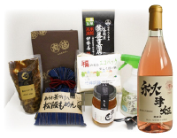 C.ワインが付いてる松阪特産品セット